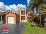 :Modern 2 storey brick home featuring 5 bedrooms plus a study, formal lounge and family area, two full bathroom plus bonus  powder room downstairs. Its quality finishes and well considered floor plan provides premium comfort for relaxed, easy care family living. The property sits on approx 606 sqm of land and is situated in a great location close to School, Shops and Lidcombe Station.